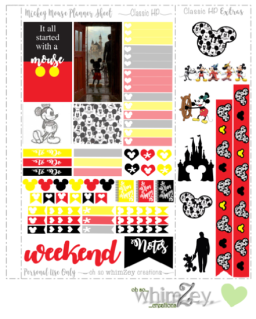 Freebie- Mickey Mouse ohsowhimzey