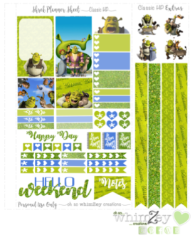 Freebie- Shrek ohsowhimzey